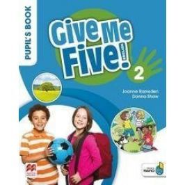 Give Me Five! 2 Pupil's Book Pack MACMILLAN - Donna Shaw, Joanne Ramsden