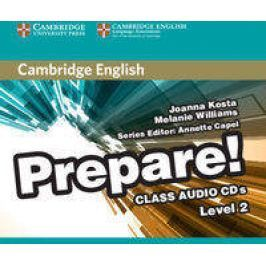 Cambridge English Prepare! 2 Class Audio 2CD